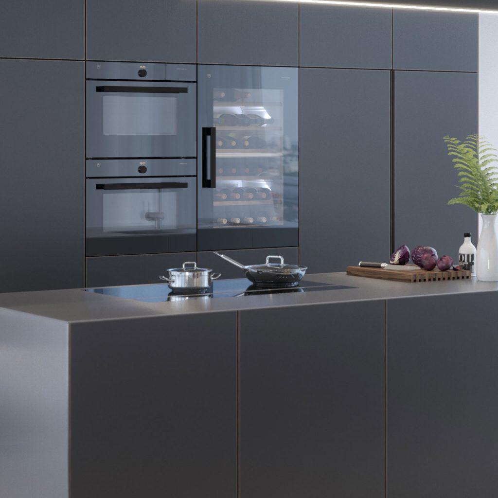 v zug wieland k chen einrichtung. Black Bedroom Furniture Sets. Home Design Ideas